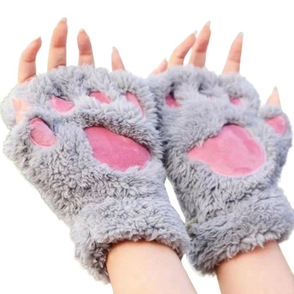 Перчатки лапки кошки